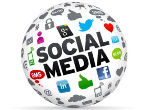 Social Media services marketing globe
