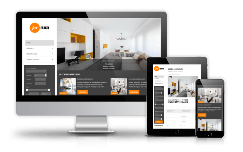 Pro Designs: Real Estate Websites